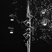 Rowing in Motion. abstract overhead Images from the Head of the Riverfront Rowing Regatta. Connecticut, Hartford. USA. 5th October 2014. Photo Tim Clayton