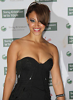 Amelle Berrabah of Sugababes World Tennis Association Pre-Wimbledon Party held at the Roof Gardens, Kensington, London, UK, 17 June 2010. For piQtured Sales contact: Ian@piqtured.com Tel: +44(0)791 626 2580 (Picture by Richard Goldschmidt/Piqtured)