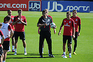 050912 Wales football training