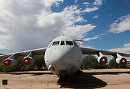 Lockheed C 141 c Starlifter at the Pima Air and Space Museum in Tuscon, Arizona.<br /> <br /> Photo by Dennis Brack