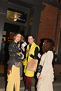 VALERIA NAPOLEONE; STEFANIA PRAMMA; NIAMH CONNEELY, , Evening preview of House of Voltaire.  A pop-up store selling artworks. homewares and limited edition prints. 31 Cork st. London W1S 3NU. 25 September 2019