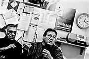 Monfalcone, mar/apr 2005. Morire di amianto. Il calvario di ex operai dei cantieri navali e le loro famiglie. Associazione Spyraglio per l'auto aiuto.