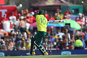David Miller during the International T20 match between South Africa and England at Supersport Park, Centurion, South Africa on 16 February 2020.