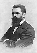 Theodor Herzl (1860-1904) Zionist leader. Convened first Zionist Congress, Basel 1897.