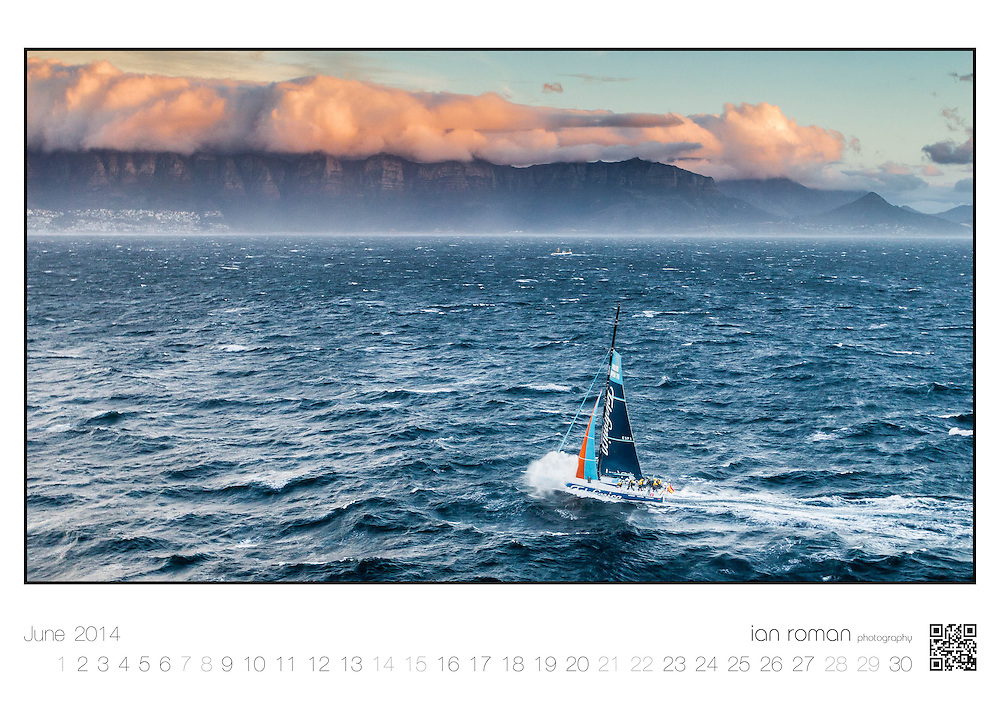 "Image from the Ian Roman 2014 Sailing Calendar. Orders may be placed using the ""Calendar"" button at the top of the screen."