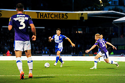 Ollie Clarke of Bristol Rovers is marked by David Perkins of Tranmere Rovers - Mandatory by-line: Ryan Hiscott/JMP - 20/08/2019 - FOOTBALL - Memorial Stadium - Bristol, England - Bristol Rovers v Tranmere Rovers - Sky Bet League One