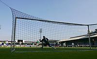 Photo: Andrew Unwin.<br />Northern Ireland v Azerbaijan. FIFA World Cup Qualifying match. 03/09/2005.<br />Northern Ireland's Warren Feeney scores his team's second goal.
