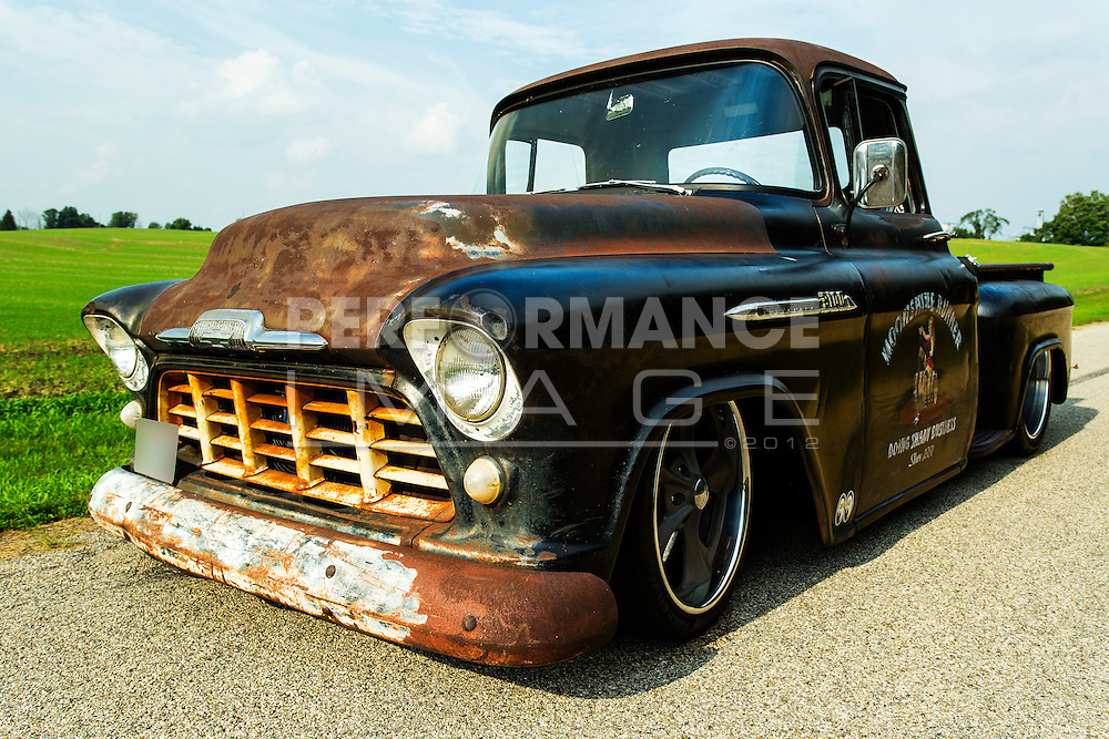 1956 Chevrolet Custom Rat Rod Pickup Truck