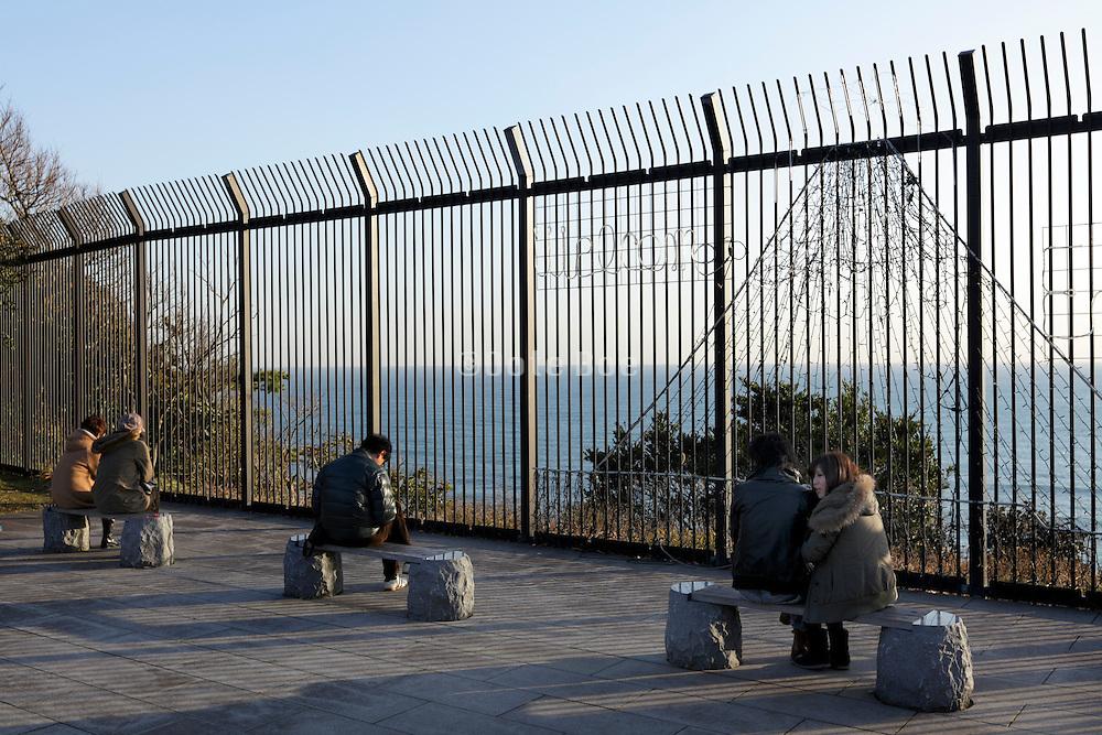 on top of Enoshima island Kanagawa prefecture Japan