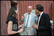VICTORIA SIDDALL; CHARLES SAUMAREZ SMITH; JACK KILGORE Drinks party to launch this year's Frieze Masters.Hosted by Charles Saumarez Smith and Victoria Siddall<br />  Academicians' room - The Keepers House. Royal Academy. Piccadilly. London. 3 July 2014