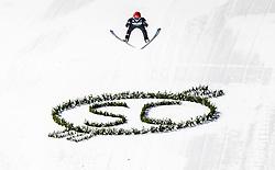 01.02.2019, Heini Klopfer Skiflugschanze, Oberstdorf, GER, FIS Weltcup Skiflug, Oberstdorf, im Bild Stephan Leyhe (GER) // Stephan Leyhe of Germany during the FIS Ski Jumping World Cup at the Heini Klopfer Skiflugschanze in Oberstdorf, Germany on 2019/02/01. EXPA Pictures © 2019, PhotoCredit: EXPA/ JFK