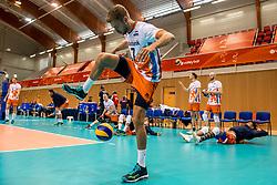 20-05-2018 NED: Netherlands - Slovenia, Doetinchem<br /> First match Golden European League / Gijs Jorna #7 of Netherlands