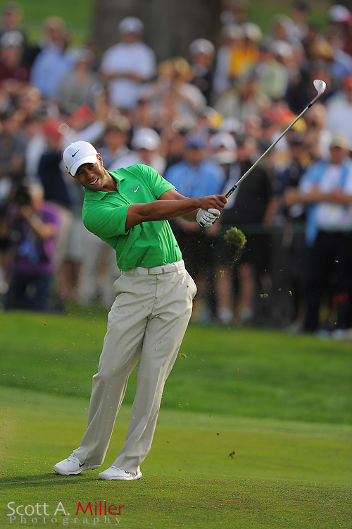 Tiger Woods during the third round of the 112th U.S. Open at The Olympic Club on June 16, 2012 in San Fransisco. ..©2012 Scott A. Miller