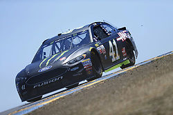 June 23, 2017 - Sonoma, CA, United States of America - June 23, 2017 - Sonoma, CA, USA: Kurt Busch (41) takes to the track to practice for the Toyota/Save Mart 350 at Sonoma Raceway in Sonoma, CA. (Credit Image: © Justin R. Noe Asp Inc/ASP via ZUMA Wire)