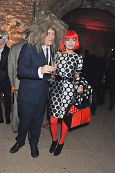 ROGER TATLEY and MARGO TRUSHINA at Wanderlust - the Contemporary Art Society Annual Fundraising Gala held at Old Vic Tunnels, London on 13th March 2013.