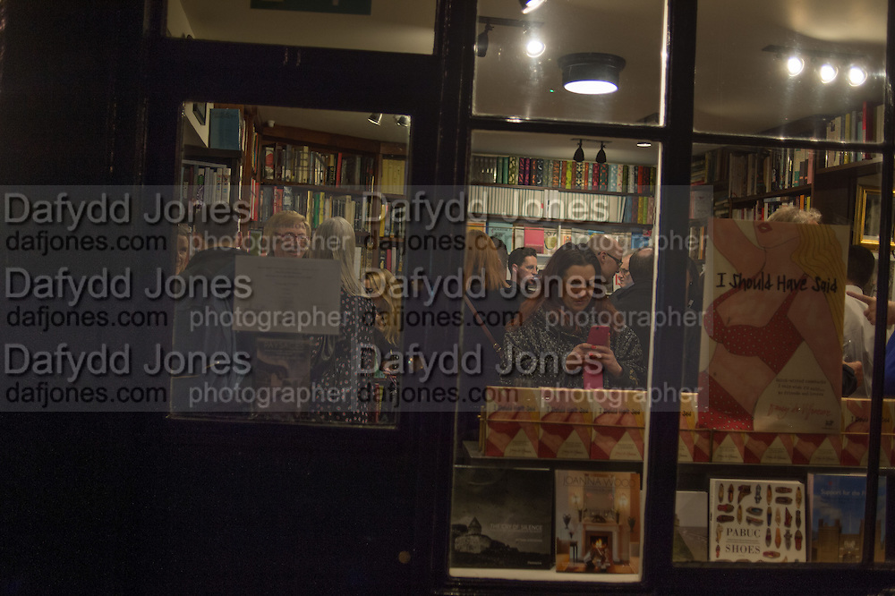 JOHN SANDOE BOOKS, , Book launch for 'I Should Have Said' by Daisy de Villeneuve, John Sandoe Books, Blacklands Terrace. Chelsea, London. 10 March 2015.