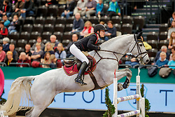 BORMANN Finja (GER), Grey Chester<br /> Leipzig - Partner Pferd 2020<br /> FUNDIS Youngster Tour<br /> Finale für 8jährige Pferde<br /> Zwei-Phasen Springprfg., int.<br /> Höhe: 1.40 m<br /> 19. Januar 2020<br /> © www.sportfotos-lafrentz.de/Stefan Lafrentz