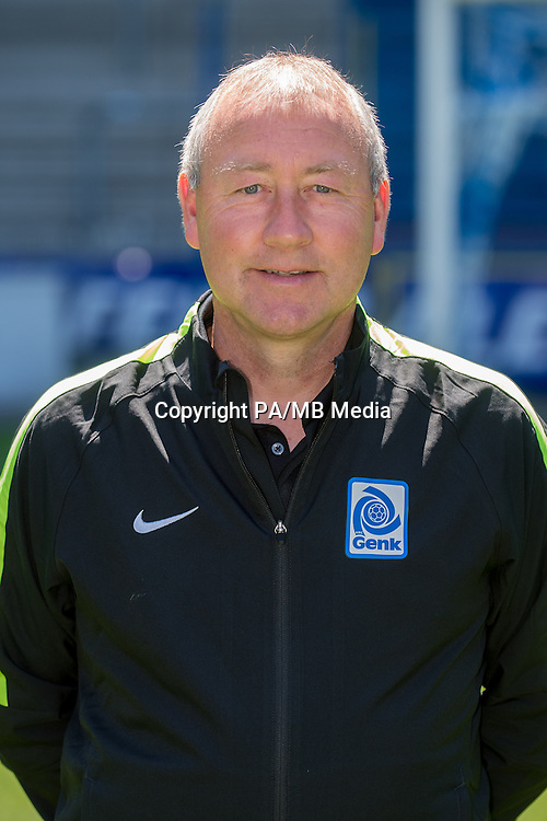 Genk's assistant coach Pierre Denier pictured during the 2015-2016 season photo shoot of Belgian first league soccer team KRC Genk, Friday 10 July 2015 in Genk