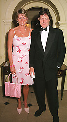 MR & MRS SIMON SLATER, she was Kate Menzies a close <br /> friend of the late Diana, Princess of Wales, at a party in London on 9th May 2000.ODR 36