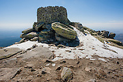Old observatory in Sierra de Gredos (Spain)
