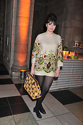 GIZZI ERSKINE at the 50th birthday party for Jonathan Shalit held at the V&A Museum, London on 17th April 2012.