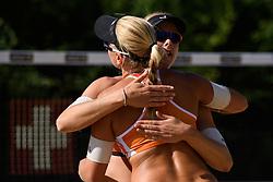 10-06-2016 DUI: Smart Major Beach Volleyball World Tour, Hamburg<br /> Madelein Meppelink<br /> <br /> ***NETHERLANDS ONLY***