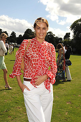 YASMIN LE BON at the IWC Laureus Polo Cup Day 2008 held at Ham Polo Club, Surrey on 22nd June 2008.<br /><br />NON EXCLUSIVE - WORLD RIGHTS