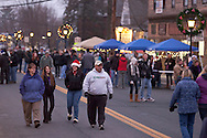 Pine Bush, New York - People enjoy the Community Country Christmas presented by the Pine Bush Chamber of Commerce on Dec. 1, 2012.