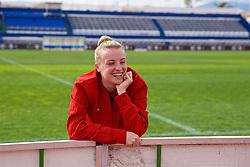 MARBELLA, SPAIN - Tuesday, March 5, 2019: Wales' Kylie Nolan after an international friendly match between Wales and Republic of Ireland at the Estadio Municipal de Marbella. (Pic by David Rawcliffe/Propaganda)