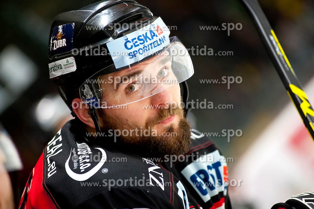 28.12.2015, Ice Rink, Znojmo, CZE, EBEL, HC Orli Znojmo vs HCB Suedtirol, 36. Runde, im Bild Jan Lattner (HC Orli Znojmo) // during the Erste Bank Icehockey League 36nd round match between HC Orli Znojmo and HCB Suedtirol at the Ice Rink in Znojmo, Czech Republic on 2015/12/28. EXPA Pictures © 2015, PhotoCredit: EXPA/ Rostislav Pfeffer
