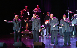 LITTLE ANTHONY AND THE IMPERIALS on stage Sunday, June 17, 2018 in Las Vegas, Nevada. The group first organized in 1958 and are members of the Rock and Roll Hall of Fame with noted songs Tears On My Pilloow and Shimmy, Shimmy, Ko-Ko-Bob. (Credit Image: © Barry Sweet via ZUMA Wire)