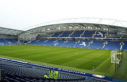 The American Express Community Stadium (Falmer Stadium), home of Brighton & Hove Albion - Mandatory byline: Robbie Stephenson/JMP - 07966 386802 - 07/11/2015 - FOOTBALL - Falmer Stadium - Brighton, England - Brighton v MK Dons - Sky Bet Championship