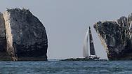 Cowes. ENGLAND. 21st June 2014. J P Morgan Round the Island Race. Tokoloshe II.
