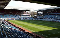 Villa Park - Photo mandatory by-line: Robbie Stephenson/JMP - Mobile: 07966 386802 - 07/04/2015 - SPORT - Football - Birmingham - Villa Park - Aston Villa v Queens Park Rangers - Barclays Premier League