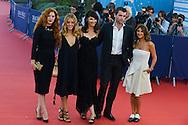 Jury Revelation, Rachelle Lefevre, Alice Isaaz, Zabou Breitman, Stanley Weber and Geraldine Nakache arrive at the 'Mr Holmes' Premiere red carpet during the 41st Deauville American Film Festival on September 10, 2015 in Deauville, France