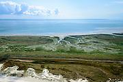 Nederland, Friesland, Terschelling, 05-08-2014;  Noordkaap Terschelling, het meest oostelijk deel van het eiland en natuurgebied de Boschplaat. <br /> Wadden island Terschelling with nature reserve. <br /> luchtfoto (toeslag op standard tarieven);<br /> aerial photo (additional fee required);<br /> copyright foto/photo Siebe Swart