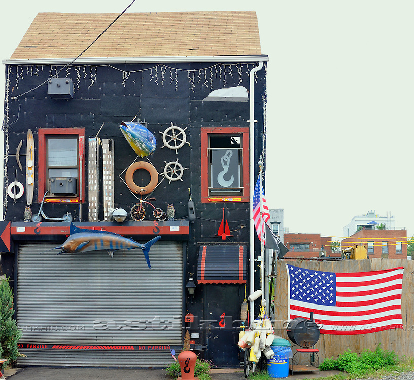 Most interesting house in Brooklyn.