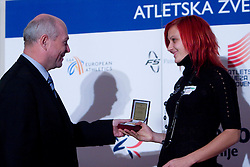 Nina Kolaric at Best Slovenian athlete of the year ceremony, on November 15, 2008 in Hotel Lev, Ljubljana, Slovenia. (Photo by Vid Ponikvar / Sportida)