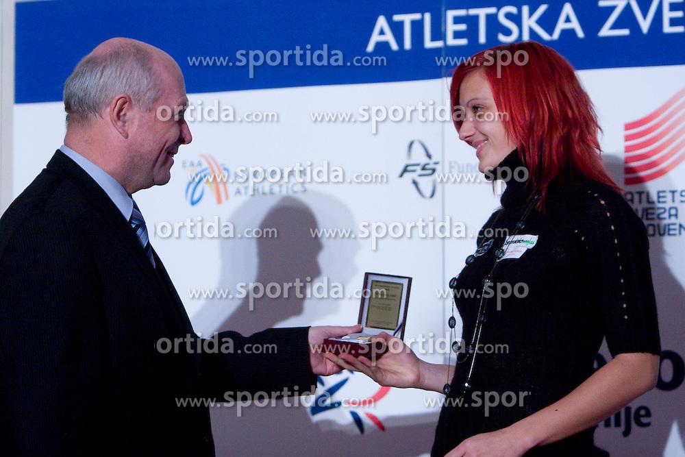 Nina Kolaric at Best Slovenian athlete of the year ceremony, on November 15, 2008 in Hotel Lev, Ljubljana, Slovenia. (Photo by Vid Ponikvar / Sportida)