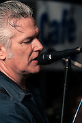 Scott McClatchy during a performance with his band at The Bus Stop Music Cafe in Pitman. NJ.
