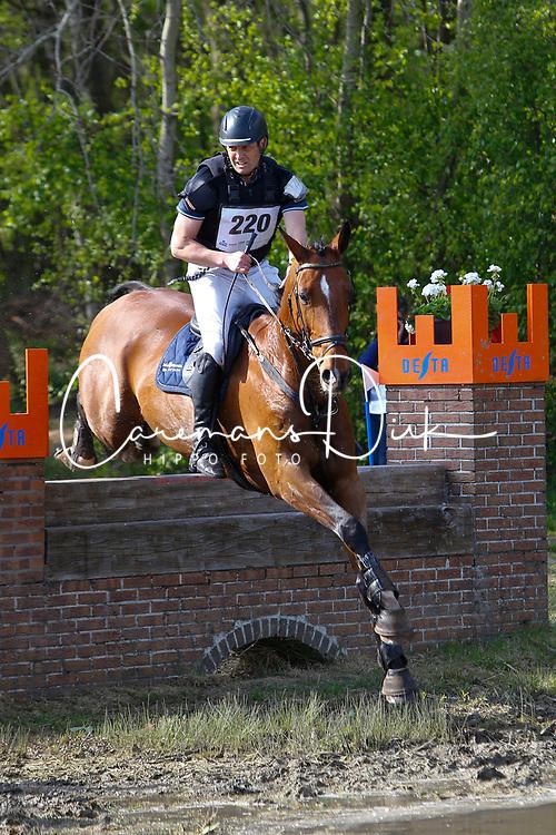 Vierendeels Stefaan, BEL, Figor De Bogaerde<br /> Nationale LRV-Eventingkampioenschap Minderhout 2017<br /> &copy; Hippo Foto - Kris Van Steen<br /> 30/04/17