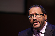 May 7, 2012- New York, NY United States: - Dr. Michael Eric Dyson attends the Theater Talks at the Schomburg: A Streetcar Named Desire held at the Schomburg Center for Research in Black Culture, part of the New York Public Library on May 7, 2012 in Harlem Village, New York City. The Schomburg Center for Research in Black Culture, a research unit of The New York Public Library, is generally recognized as one of the leading institutions of its kind in the world. For over 80 years the Center has collected, preserved, and provided access to materials documenting black life, and promoted the study and interpretation of the history and culture of peoples of African descent. (Photo by Terrence Jennings) ..