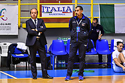 Andrea Capobianco, Massimo Romano<br /> Italia Italy - Repubblica Ceca Czech Republic<br /> FIBA Women's Eurobasket 2021 Qualifiers<br /> FIP2019 Femminile Senior<br /> Cagliari, 14/11/2019<br /> Foto L.Canu / Ciamillo-Castoria