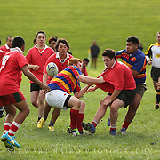 Tawa College 2nd XV V Viard College 2nd  XV - 11 May 2013