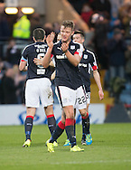 Dundee&rsquo;s Mark O&rsquo;Hara at the end - Dundee v Rangers in the Ladbrokes Scottish Premiership at Dens Park, Dundee.Photo: David Young<br /> <br />  - &copy; David Young - www.davidyoungphoto.co.uk - email: davidyoungphoto@gmail.com