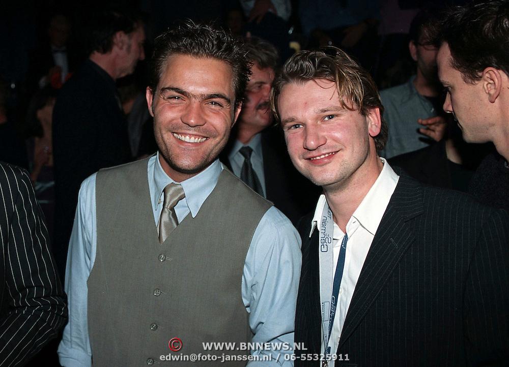 Playboy Feest 2000, Mike Starink met vriend Erwin