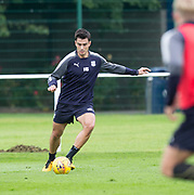 Julen Etxabeguren during Dundee training at the University Grounds, Riverside, Dundee<br /> <br />  - &copy; David Young - www.davidyoungphoto.co.uk - email: davidyoungphoto@gmail.com