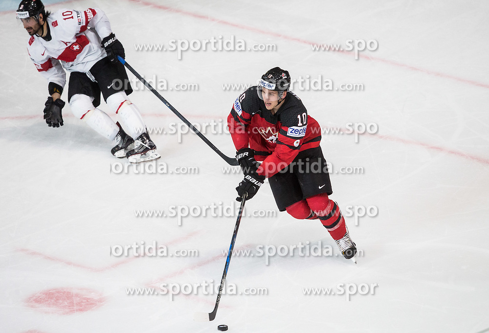 Brayden Schenn of Canada during the 2017 IIHF Men's World Championship group B Ice hockey match between National Teams of Canada and Switzerland, on May 13, 2017 in AccorHotels Arena in Paris, France. Photo by Vid Ponikvar / Sportida