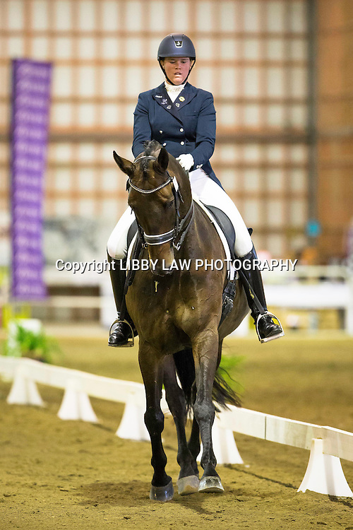 NZL-Catherine West (ANAROCZ) 1ST-Brougham Orthopaedic CDI-Y Individual Test: 2015 NZL-Bates NZ Dressage Championships, Manfeild Park - Feilding (Friday 6 March) CREDIT: Libby Law COPYRIGHT: LIBBY LAW PHOTOGRAPHY