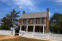Clover Hill Tavern, Appomattox Court House National Historical Park, Appomattox, Virginia.